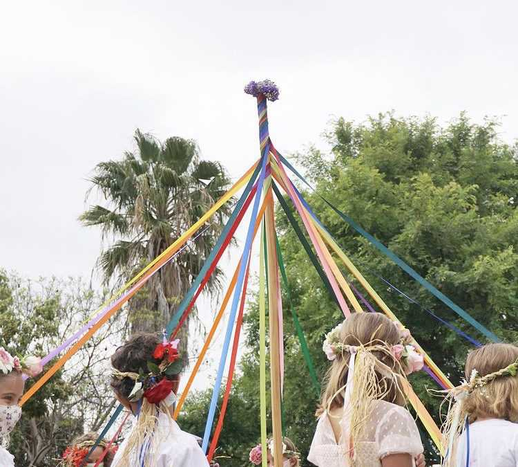 May Day Celebration at The Waldorf School of San Diego